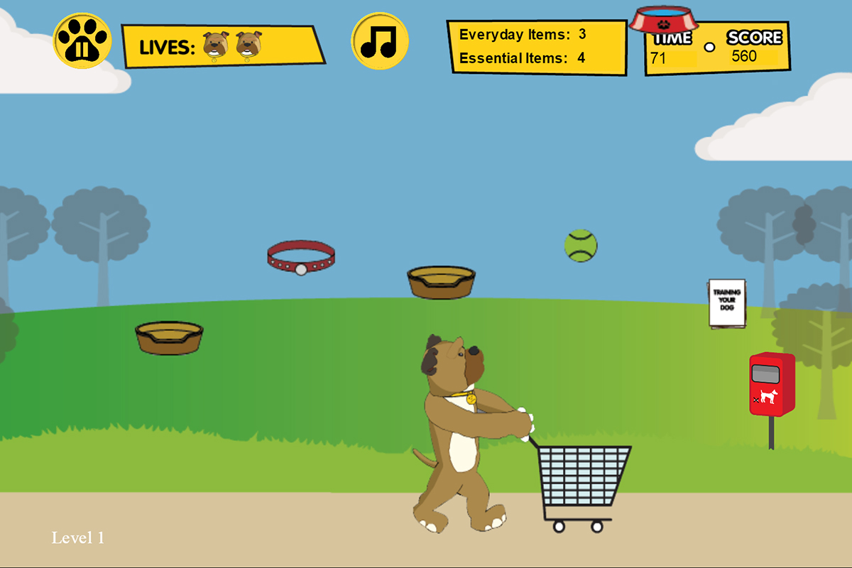 Chew's Waggy Tails iOS & Android Game - Static Games