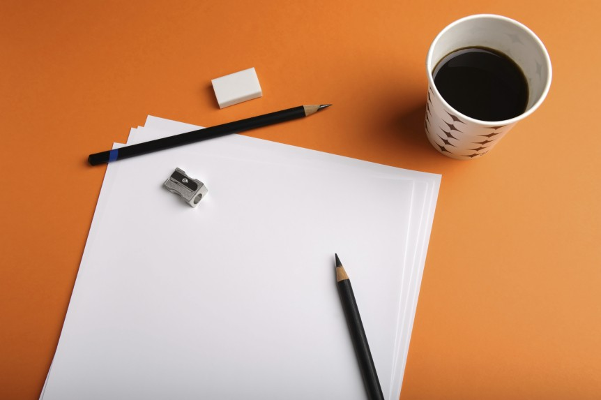 Coffee, Paper and Pencils