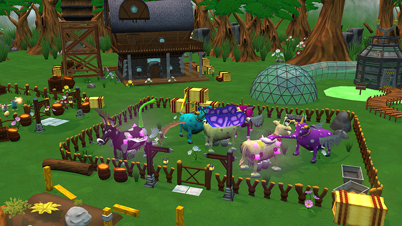 Mendel's Farm Cow