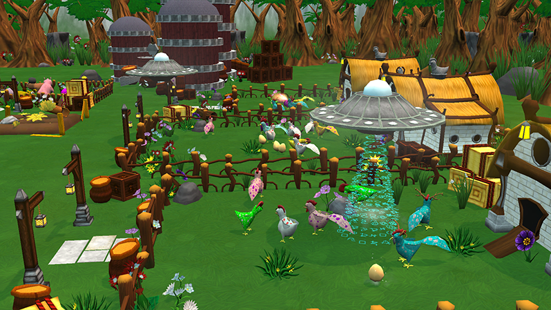 Mendel's Farm UFO Attack
