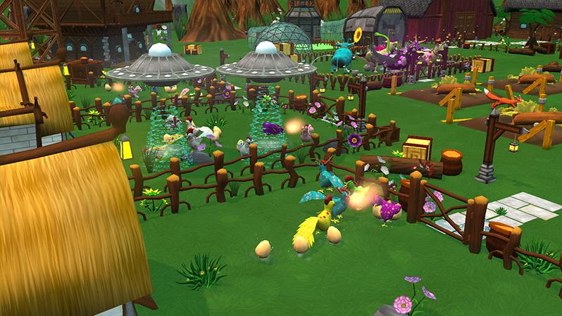 Mendel's Farm UFO & Fox